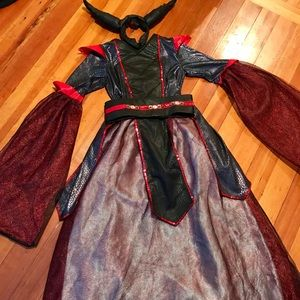 Other - Girls Halloween costume with belt and headpiece